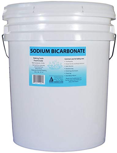 50 lb Pail of USP Pure Sodium Bicarbonate Powder