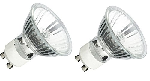 2Pack, GU10 120V 35W MR16 Q35MR16 35 watts JDR Halogen Bulb Lamp