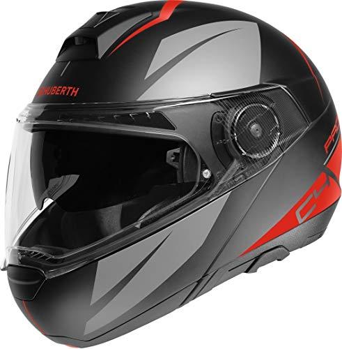 Schuberth 4541215360 C4 Pro - Motorradhelm Unisex - Erwachsene, rot (Merak Red), 55 (S), 1 Stück
