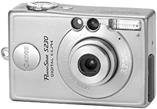 Canon PowerShot S230 3.2 MP Digital ELPH Camera with 2x Optical Zoom