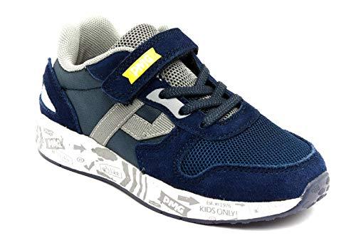 PRIMIGI 5453711 Blu Scarpe Sneaker Eleganti Sportive Bambino Strappi estive (31)