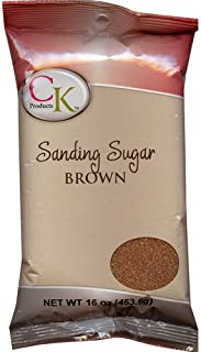 CK Products No.1 Sanding Sugar, Brown