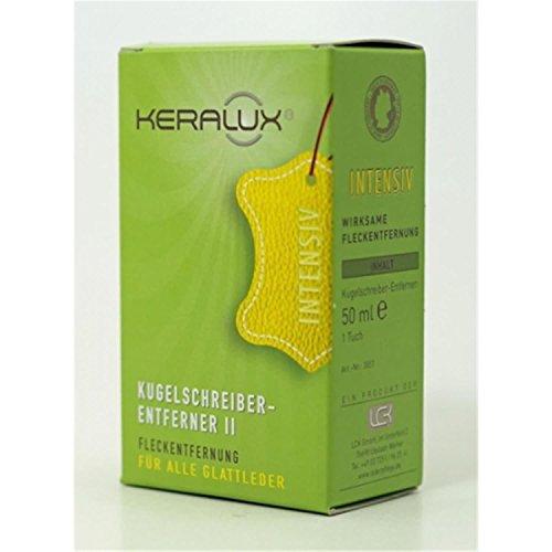 LCK Keralux Kugelschreiberentferner II für ältere Flecken für alle Glattleder