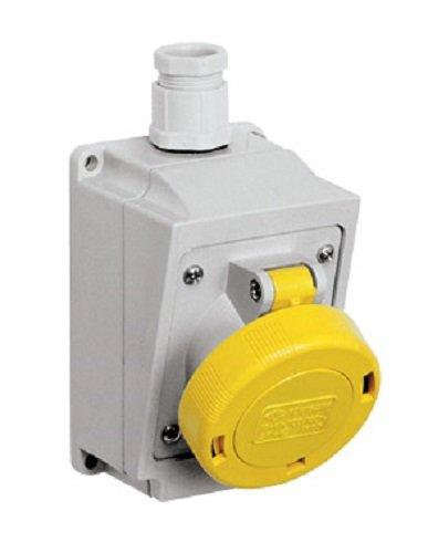 ILME PB 16002PV Stecker Niedriger Spannung bis 50V Hoods, Sockets, 2Poles, 16(A.C.), 20÷ 25V, No Key Way Purple, IP44
