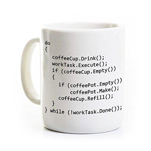 Computer Science Coffee Mug - C++ Programmer Gift - 11 Ounce Ceramic
