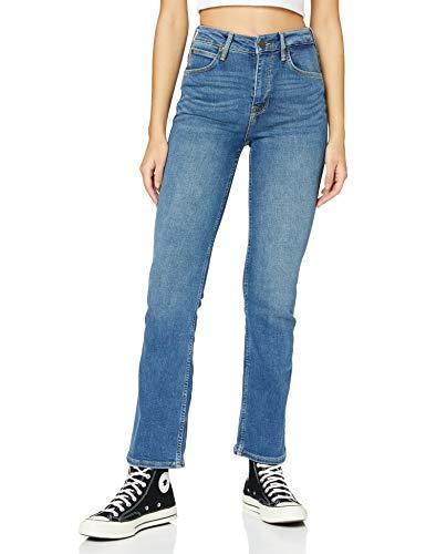 Lee Femme Breese Boot Jeans, Mid Worn Martha., 25W 31L EU