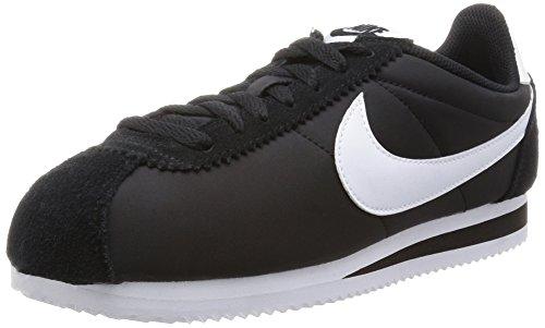 Nike Classic Cortez Nylon, Zapatillas de running para hombre, NegroBlanco (BlackWhite), 44 EU