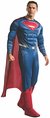 Rubie's mens Superman Adult Deluxe Costume, Dawn of Justice, X-Large