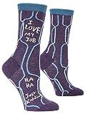 I Love My Job Crew Socks