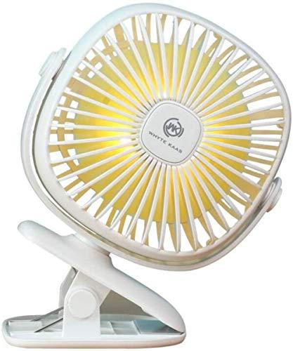 Best Price yangww Small Fan USB Small Fan Mini Charging Clip Fan Office Fan Mute Small Fan