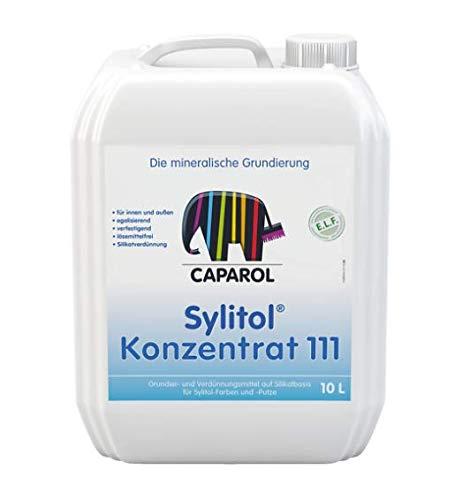 CAPAROL Sylitol Konzentrat 111 Mineralische Grundierung Wand Fassaden 10 Liter