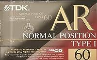 TDK カセットテープ AR 60分 ストロング磁性材 ノンポアアビリン AR-60R