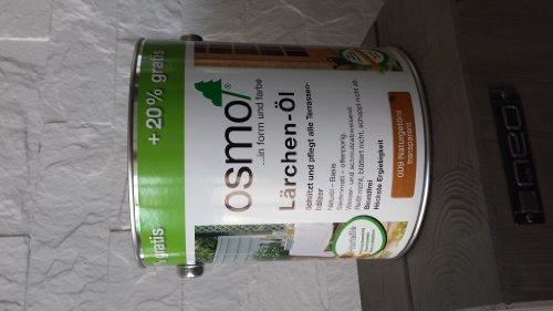 Osmo Lärche-Öl Naturgetönt 009 3,00 L Holz-Spezial-Öl, seidenmatt für außen AKTION!!!