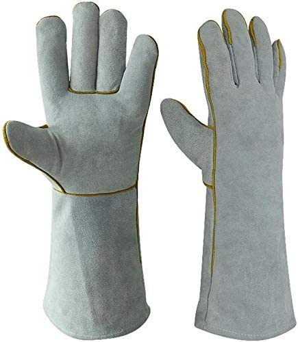 Welding Gloves Heat Fire Welders Financial sales sale Glove price Resistant Leather