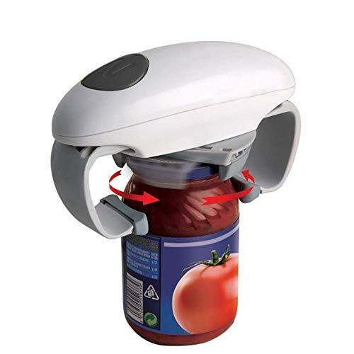 Ouvreur de bocal automatique One Touch Ouvreur de bocal automatique réglable, outil ouvert en étain, accessoires de cuisine multifonctions