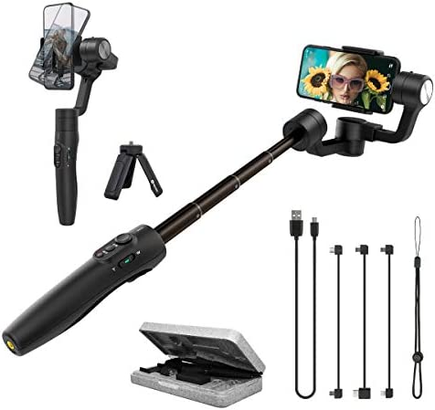 FeiyuTech Official Vimble 2S Gyro 3 Axis Gimbal Stabilizer for Smartphone iPhone 12 11 XR Cellphone product image