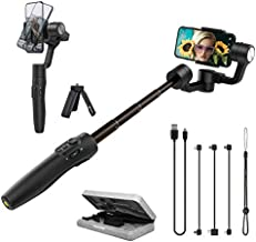 FeiyuTech Official Vimble 2S Gyro 3-Axis Gimbal Stabilizer for Smartphone iPhone 12 11 XR Cellphone Phone Gimbal Stabilizer Selfie Stick Handheld Extend 7.1