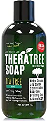 Antifungal Soap with Tea Tree Oil & Neem 12oz