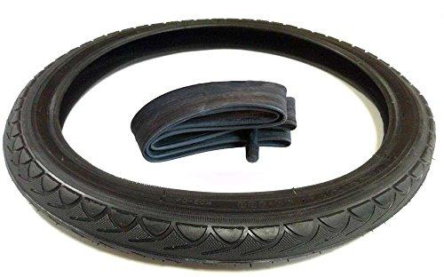 Reifen Mantel schwarz + Schlauch 14 x 1 3/8 x 1 5/8 Zoll DIN 44 - 288