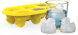 True Zoo 3328 Silicone Ice Cube Tray, Quack the Ice Tray, Yellow, Set of 1