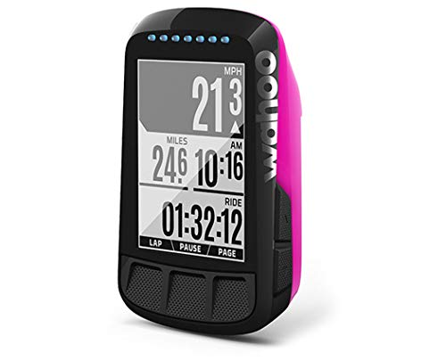 WAHOO(ワフー) ELEMNT BOLT(エレメントボルト) GPSサイクルコンピューター単体(マウント付) [ピンク] WFCC3PK