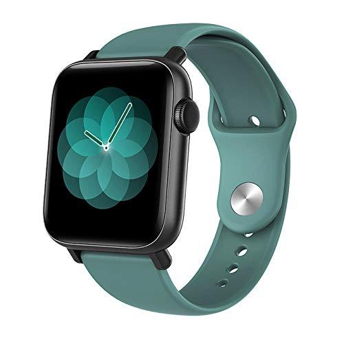 Reloj Inteligente, IP67 Reloj Deportivo a Prueba de Agua con Monitor de frecuencia cardíaca y sueño Podómetro Contador de calorías por Pasos Cronómetro Reloj para Correr para Hombres y Mujeres-mi