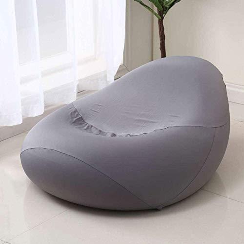 Sofá Lazy Bag Sofá sin Forro Acolchado Bolsa de Frijol Cubierta de Silla Cubierta cómodo sofá