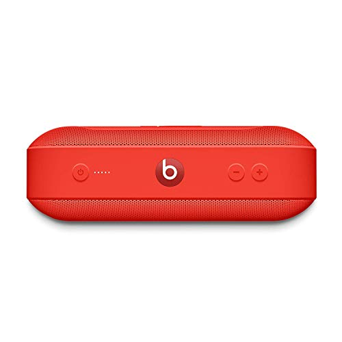 Beats Pill+ Portable Wireless Speaker - Stereo Bluetooth, 12 Hours of Listening Time, Microphone for Phone Calls - (Product) RED