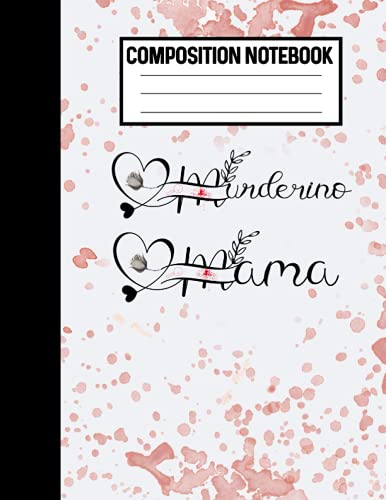 Composition Notebook Murderino Mama: True Crime Blank Notebook For Busy Moms