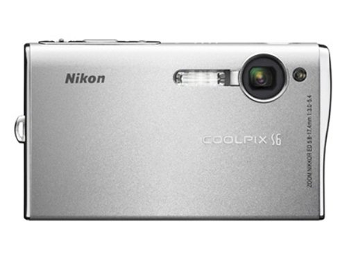 Affordable Nikon Coolpix S6 6MP Digital Camera with 3x Optical Zoom (Wi-Fi Capable)