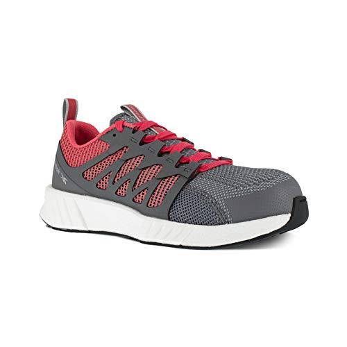 Reebok Work Fusion Flexweave Zapatos de trabajo casual para mujer con puntera compuesta ESD para trabajo y seguridad, Gris (gris), 42 EU
