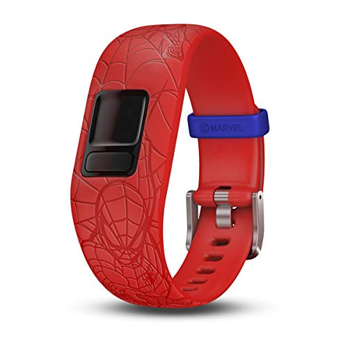 Garmin vívofit jr 2, Accessory Band Only, Marvel Spider-Man, Red