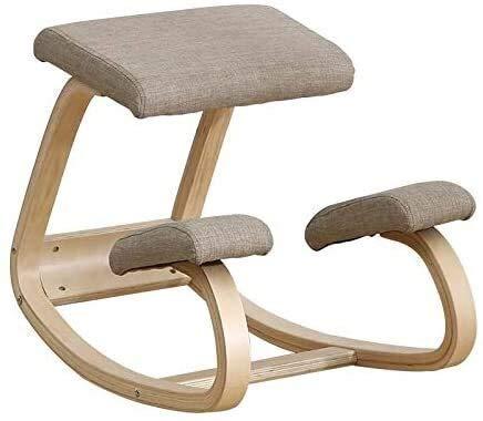 YAMMY Las sillas de Rodillas se Pueden Ajustar Completamente La Silla de Oficina móvil Puede...