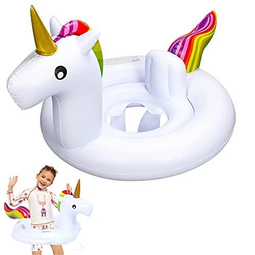 Anillo de natación Inflable para bebé,Asientos de Natación para Bebés,Anillo de Natación...