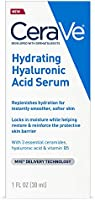 Cerave Hyaluronic Acid Serum for Face with Vitamin B5 and Ceramides | Hydrating Face Serum for Dry Skin | Fragrance Free...