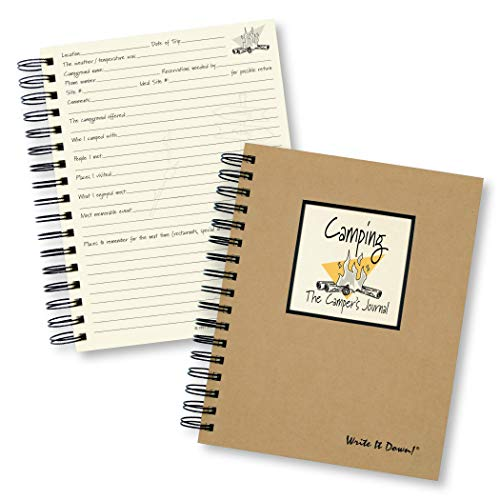 Camping, The Camper's Journal (Natural Brown)