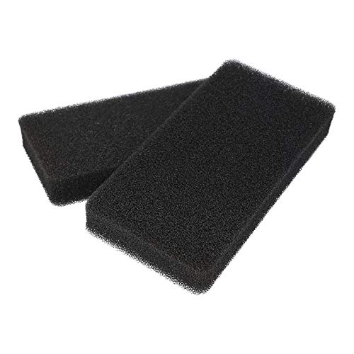 2x Schwammfilter Schaumfilter Filter für Gorenje 327136 SP10 Wärmepumpentrockner Wäschetrockner Kondenstrockner Trockner
