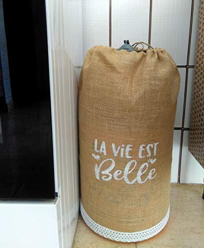 Funda para bombona de butano La Vie Est Belle con encaje