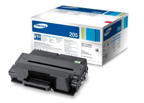 Samsung MLT-D205L/ELS Original Toner (Hohe Reichweite, Kompatibel mit: ML-3310, SCX-4833, ML-3710, SCX-5637, SCX-5737) schwarz