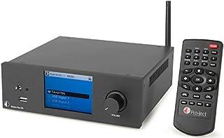 Pro-Ject Stream Box RS. Colore del prodotto: Nero. Standard Wi-Fi: 802.11b, 802.11g, 802.11N. Consumi (typicale): 17W. larghezza: 206mm Profondità: 200mm Altezza: 72mm