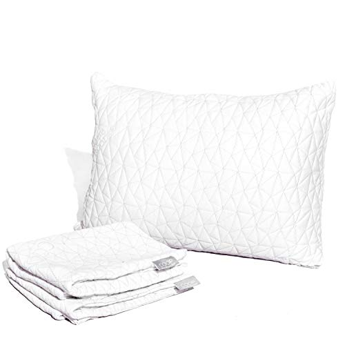 Coop Home Goods - Breathable Ultra Soft Noiseless Pillowcase - Patented Lulltra Fabric from Bamboo Derived Viscose Rayon and Polyester Blend - Oeko-Tex Certified - Queen Size 20x 30