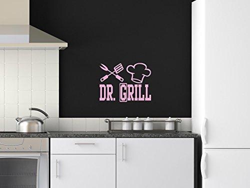 Comedy Wall Art DR. Grill - Rosa - ca. 40 x 30 cm