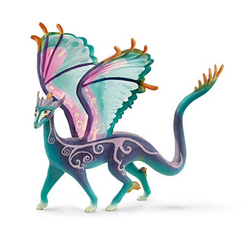 Schleich bayala, The Fairy Princess and the Unicorn Movie Figurine, Fantasy Toys for Girls and Boys 5-12 years old, Antylar the Dragon