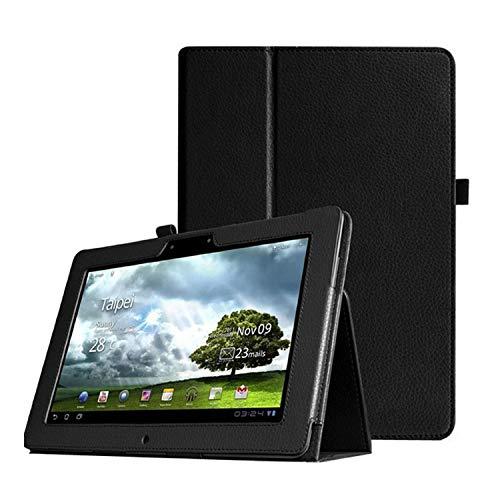 Voor Asus Memo Pad Fhd 10,1 Zoll ME301T ME302 ME302C ME302KL Tablet Lederen Beschermhoes-schwarz