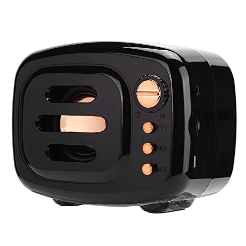 Lafey Altavoz con micrófono de Llamada HD Incorporado, Compatible con Altavoz de reducción de Ruido de Llamadas Manos Libres, Calidad de Sonido de Alta fidelidad para computadora(Black)