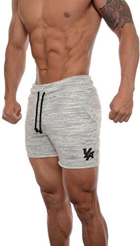 YoungLA Men's Bodybuilding Gym Workout Shorts 102 Marble M