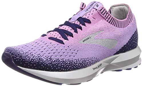 Brooks Levitate 2, Zapatillas de Running para Mujer, Rosa (Lilac/Purple/Navy 509), 38.5...