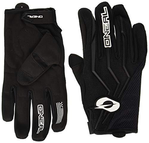 O\'NEAL | Fahrrad- & Motocross-Handschuhe | MX MTB Mountainbike Enduro Motorrad | Sichere Passform, Ergonomische Polsterung, TPR-Streifen | Element Glove | Erwachsene | Schwarz | Größe L