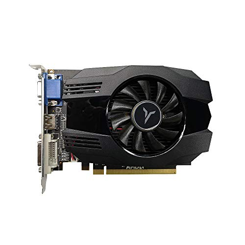 Adaskala R5 240-4GD3 VA-Grafikkarte DirectX11 4 GB / 64 Bit, 1333 MHz, GPU mit geringem Stromverbrauch