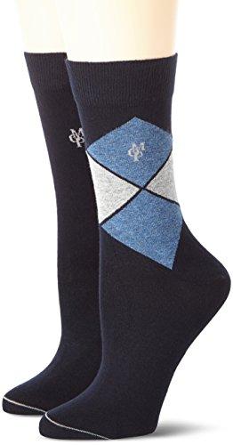 Marc O'Polo Body & Beach MATHILDA  Damen Socken, Blau (navy 815), 35/38 (Herstellergröße: 400)